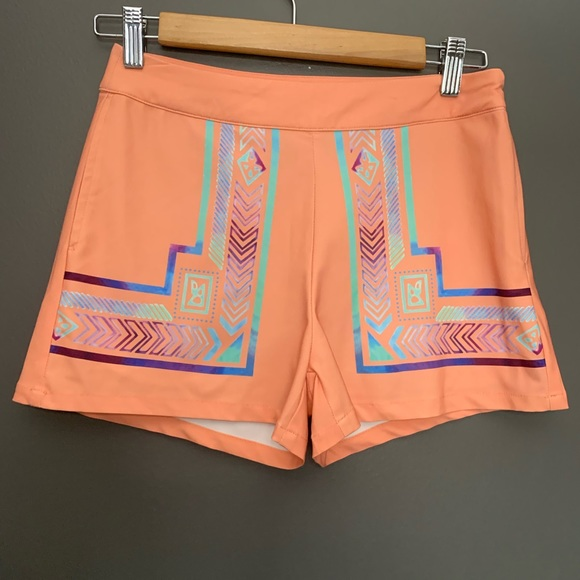 Sucre Collective Pants - Sucre Collective Tribal Print Shorts